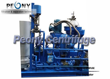 China Marine Power Plant Diesel Engine Fuel Oil Handling System Disc Separator 5000 LPH supplier