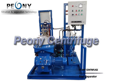 China Industrial  Disc Stack Separator Centrifuge Module For Fuel Oil and Land Power Station supplier