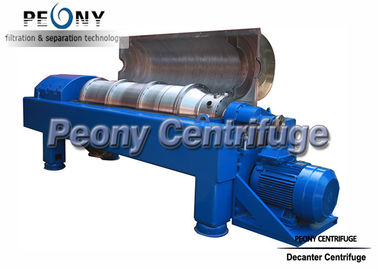 China Drilling Mud Decanter Centrifuge / Industrial Horizontal Centrifuge supplier