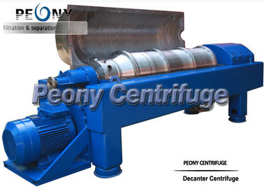 China Horizontal 2 Phase Decanter Centrifuge For Calcium Hypochlorite Dewatering supplier