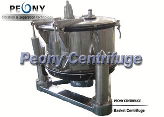 China Manual Top Discharge Basket Centrifuge For Solid-liquid Separation And Chemical supplier