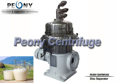 China Newly Built Food Grade Continuous Milk Disc Stack Centrifuges supplier