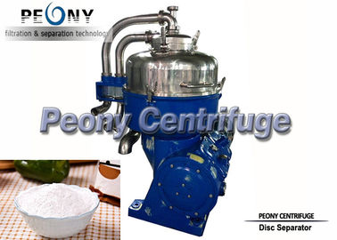 China Automatic 2 Phase Starch Separator with Disc Bowl for Protein and Waste Water Separation supplier