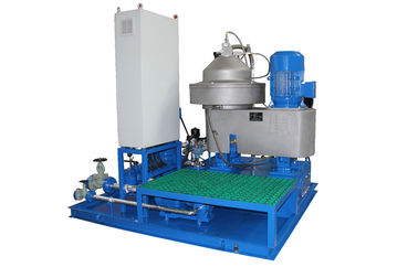 China 1500 LPH Marine Disc Centrifugal Separator Vertical for Diesel Lubricant Fuel supplier