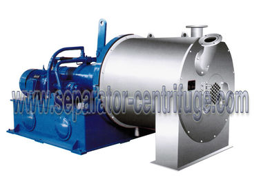 China Model PP-100 Continuous Chemical Centrifuge Two Stage Pusher Centrifuge For Fumaric Acid supplier