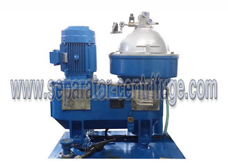 China Oil Treatment System Disc Stack Centrifuge with Skid for Land Power Plant supplier