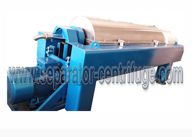 China High Speed Scroll Discharge Decanter Industrial Centrifuge Salt Chemical supplier