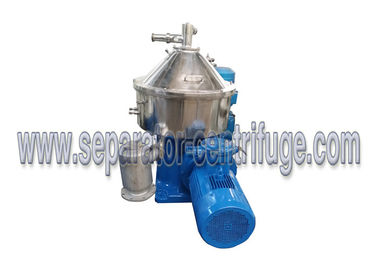 China Vertical Disc Stack 3 Phase Separator - Centrifuge To Separate Coconut Water supplier