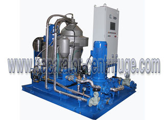 China Automatic Skid Mounted Type Centrifugal Mineral Fuel Oil Handling Separator System for 3-phase Separation supplier