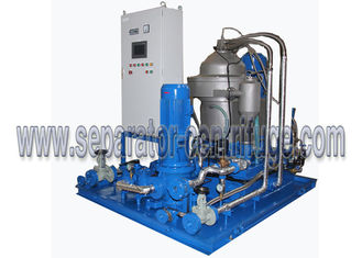China Skid Modular Type Large Capacity Maine Oil 3 Phase Centrifuge With Heating Device supplier