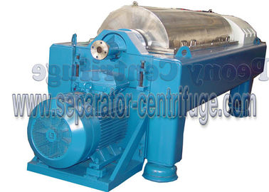 China Automatic Continuous Decanter Centrifuge Machine for Slaughterhouse Waste Treatment supplier