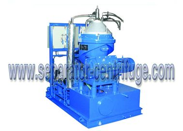 China CCS Heavy Fuel Detergence Disc Centrifugal Oil Separator 1500 LPH supplier