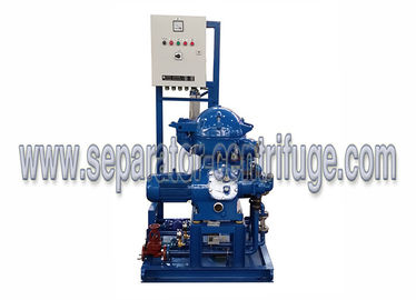 China Disc Stack Large Capacity Centrifugal Waste Oil Separator Centrifuge Machinery supplier