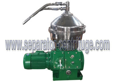 China 3 Phase Mechanical Conical Disc Stack Centrifuge Decanter For Separating Feedstock supplier