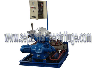 China Marine Oil / Diesel oil / Lubricant Centrifugal Separator Equipments Manual Discharging supplier