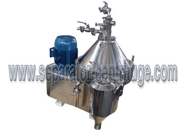 China Large Capacity Maine Oil Centrifugal Separator Skid Type Modular With Heating Device supplier