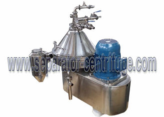 China Automatic Part Discharging 2 Phase Dairy / Milk Clarifying Disc Separator For Clarifying Milk supplier