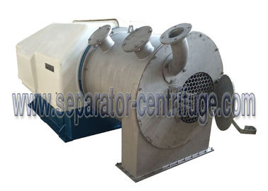 China Large Capacity Horizontal Pushing Type Food Centrifuge for Salt Dewatering supplier
