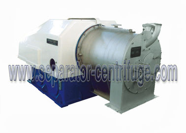 China Two Stage Pusher Solid Bowl Centrifuge  Perforated Basket Centrifuge Machine supplier