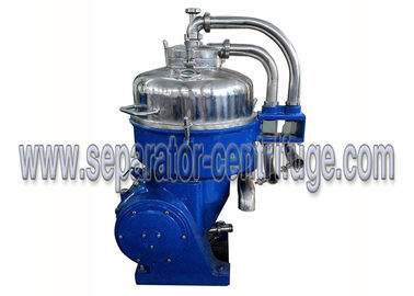 China Solid Liquid Starch Industrial Separator , Nozzle Discharge Disc Centrifuge 30kW supplier