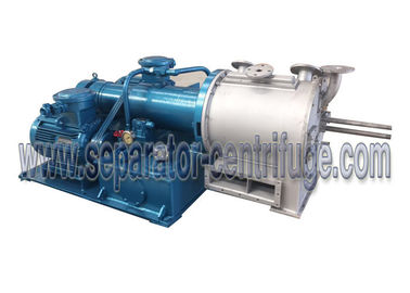 China 2 Stage Perforated Basket Pusher Salt Machine With Installation Type PP- 50 / 60 supplier