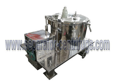 China Manual Batch Basket Type Centriufge Hemp Oil Extraction Machine GMP Grade supplier
