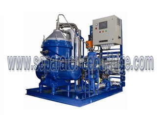 China 1500LPH Manual Slag Discharge Diesel Lubricant Heavy Fuel Oil Handling System supplier