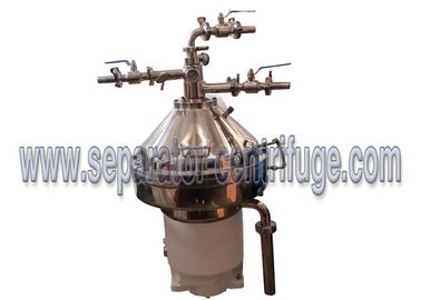 China Verticle Type Self cleaning Coconut Oil Separator Centrifugal Separator with SKF Bearing supplier