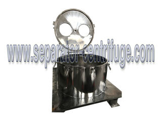 China CE Vertical Basket Centrifuge Hemp Oil Extraction From Ethanol Cannabidiol supplier