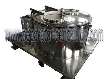 Ethanol Soaking Oil Extraction Machine , Basket Type