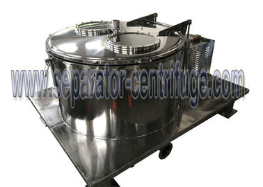 China Model PPTD PLC Type Basket Type Centrifuge For Hemp Essential Oil Extraction supplier