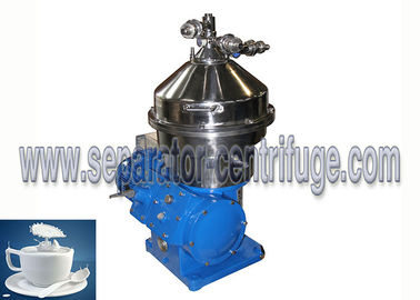 China Vertical Style Three Phase Disc Stack Centrifuges for Milk Purifying supplier