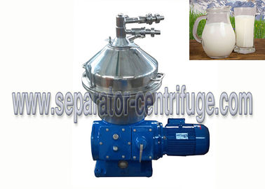 China Fresh Milk Processing Automatic Cleaning Disc Stack Centrifuges supplier