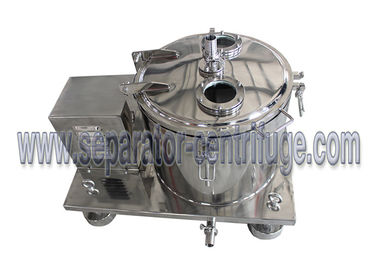 China High performance basket centrifuge used for hemp oil / ethanol extraction supplier