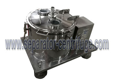 China High Performance Stainless steel Ethanol Extraction Basket Centrifuge Machine For CBD supplier