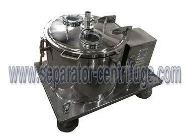Ss Basket Centrifuge for Ethanol Washing During Essential