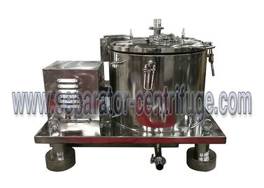 China Low cost stainless steel spin hemp oil centrifuge filter supplier