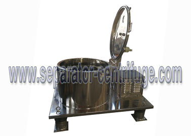 ISO Food Grade SS Basket Centrifuge for Cannabis Wash and Ethanol