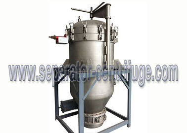 China Edible Cooking Oil Cleaning Pressure Leaf Filter with Filter Plate supplier