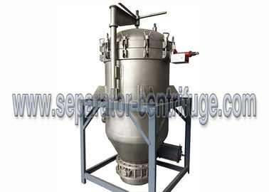 China China Economic Vertical Hermetic Pressure Leaf Filter for Juice Clarifying supplier