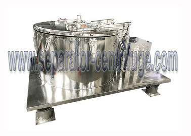 China Hemp Oil Ethanol Extraction Filter Centrifuge Stainless Steel Batch Type supplier