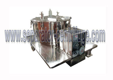 China Manual Discharge Basket Centrifuge For Dewatering , Easy And Convenient supplier