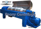 China Horizontal Centrifugal Decanter Centrifuges 2 / 3 Phase For WWTP factory