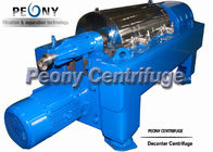 China High Efficiency Solid Separation Decanter Centrifuges With PLC Control factory