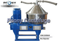China 20000 L / H High Speed Disc Stack Centrifuges Milk Disc Separator with PLC Controller factory