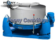 China Three Foot Scraper Bottom Discharge Basket Chemical Centrifuge With Interval Operation factory