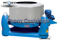 China Three Footed Manual Top Discharge Basket Centrifuge Batch Operate Food Centrifuge Machine factory