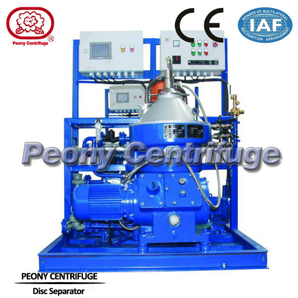 Diesel Fuel Water Separator Filter Automatic Vertical Disc Stack Centrifuges Separator