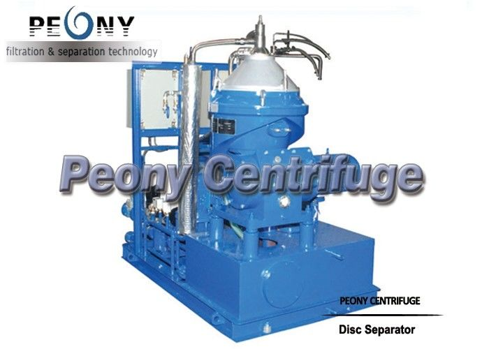 Three Phase Disc Type Vertical Centrifugal Separator Oil