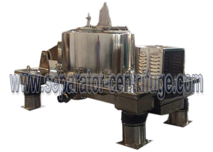 Flatform Bottom GMP 0.01mm Discharge Food Separator - Centrifuge For Separating Suspensions
